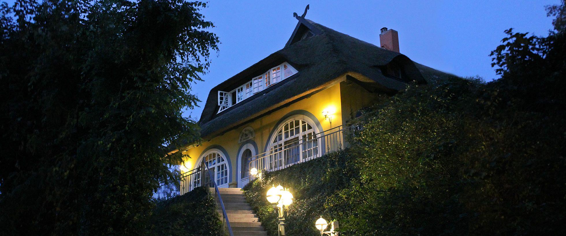 Gästehaus Bergfalke, Abendstimmung