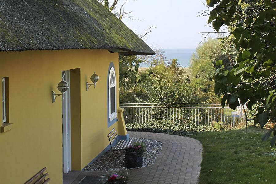 Gästehaus Bergfalke: Eingang zur Nordseite