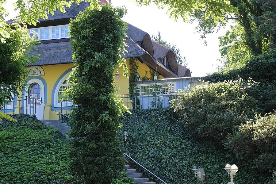 Gästehaus Bergfalke zur Ostsee-Seite / Westseite