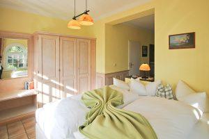 Schlafbereich im Appartement für zwei Personen