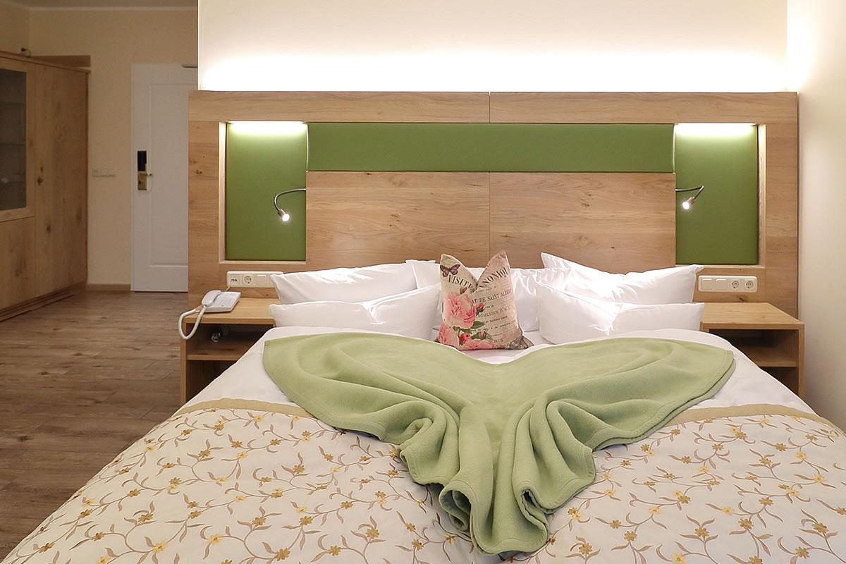 Doppelzimmer in Haus Fischerwiege, Schlafbereich