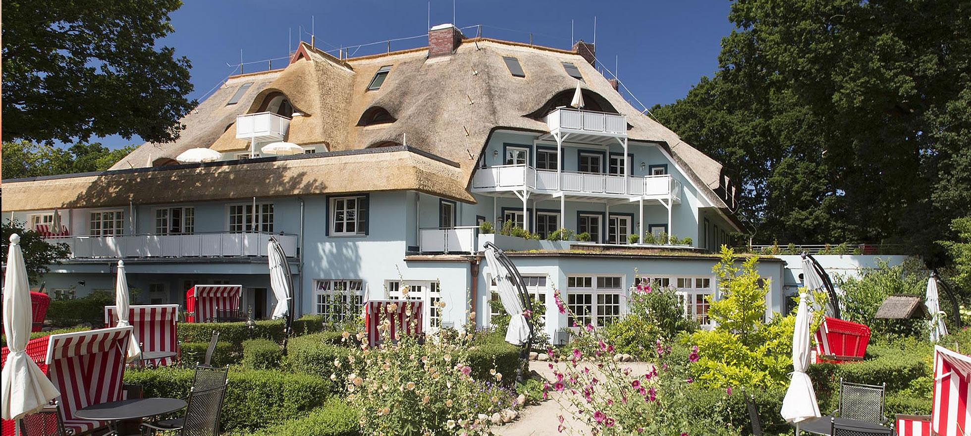 Hotel Fischerwiege, Frühstücksgarten