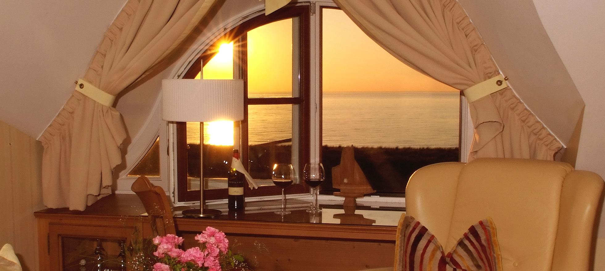 Hotel Namenlos, Suite mit Meerblick