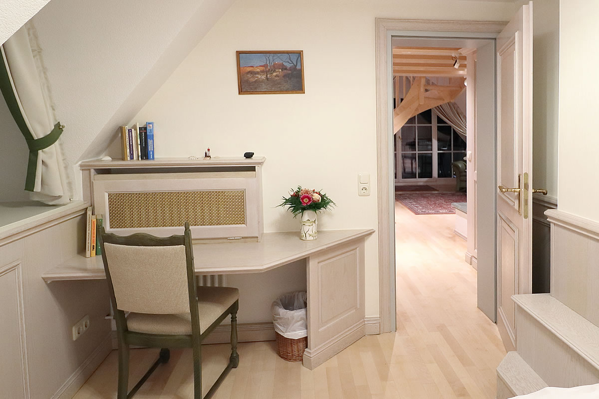 Kleiner Schlafraum unten, Kapitänssuite, Hotel Fischerwiege