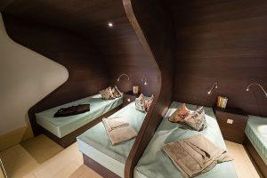Ruhekojen mit Wärme-Wasserbetten, Wellness Hotel Fischerwiege