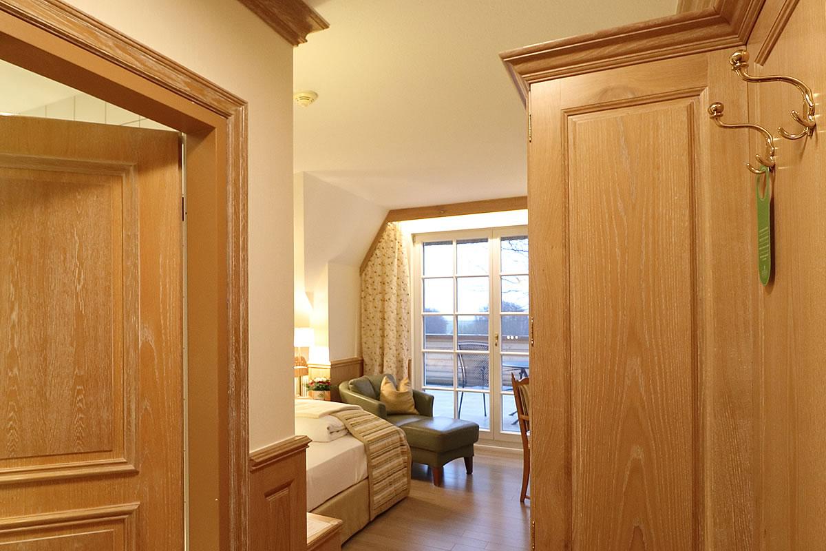 Einzelzimmer mit Balkon, Hotel Fischerwiege
