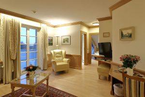 Wohnbereich in Suite