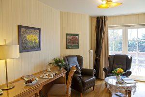 Wohn- und Schlafbereich in Doppelzimmer, Zimmerbeispiel