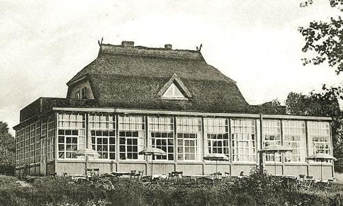 Cafè Namenlos, historische Aufnahme