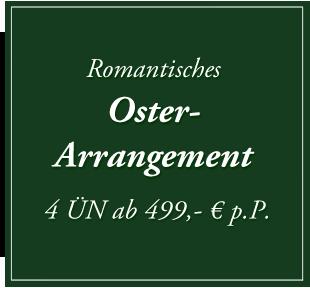 Romantisches Arrangement zu Ostern