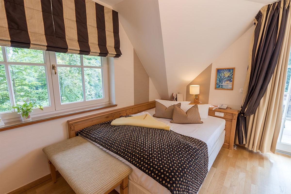 Bett für 1 - 2 Pers. im Einzelzimmer