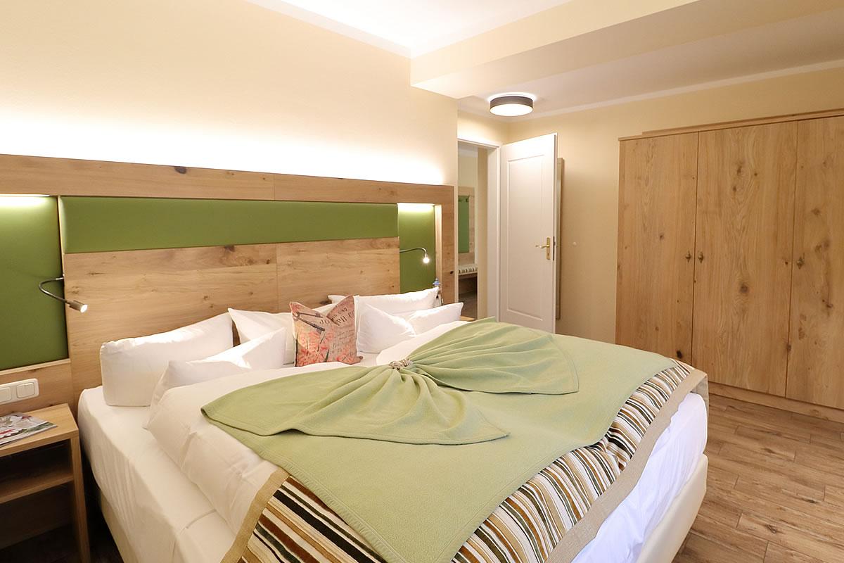 Schlafzimmer, Suite im Hotel Fischerwiege