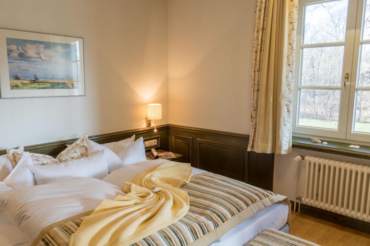 Schlafbereich in Suite, Beispiel