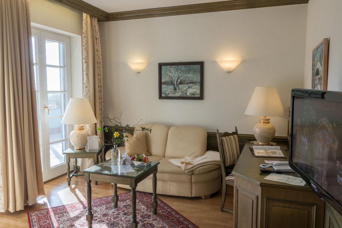 Wohnbereich in Suite, Beispiel