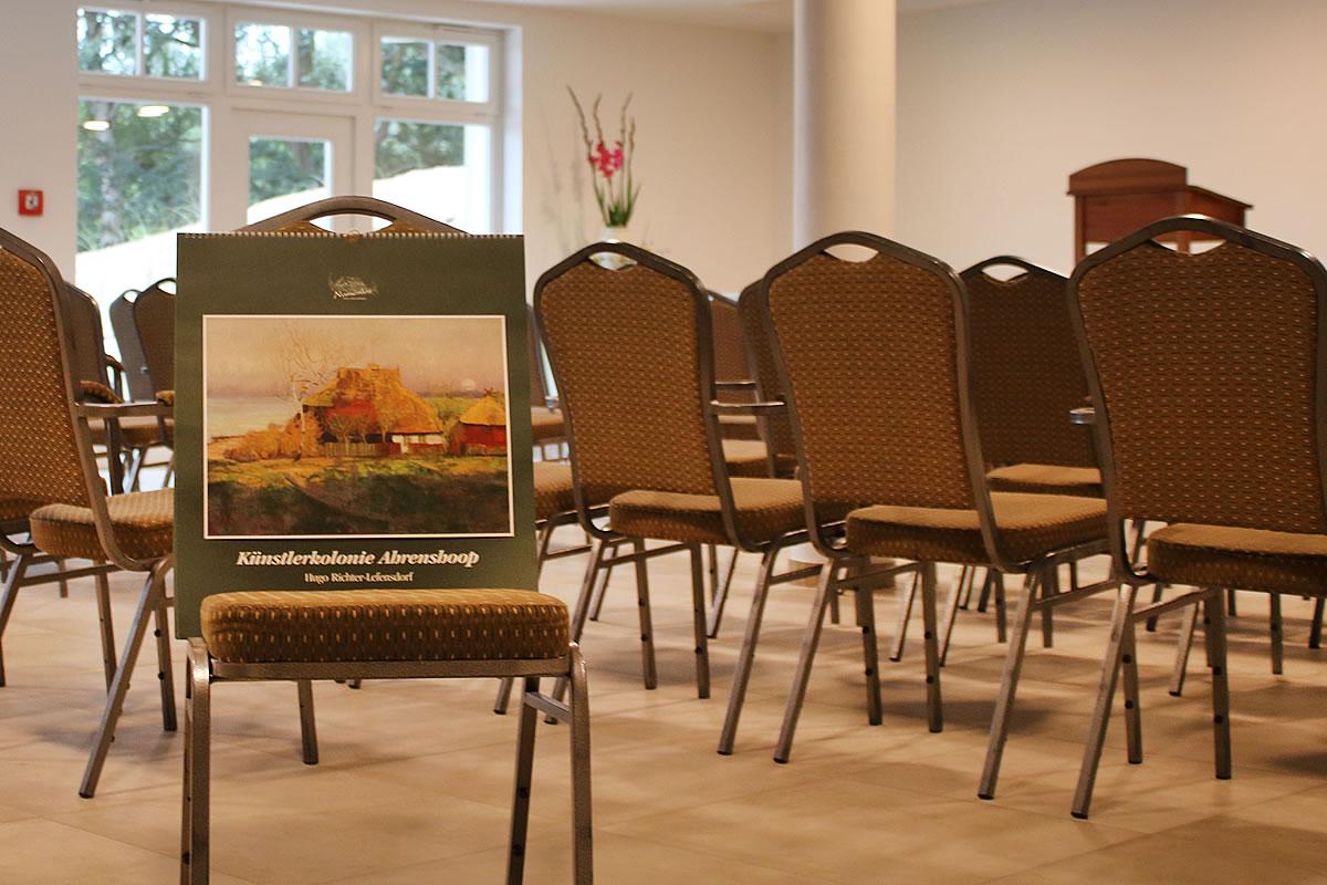 Neuer Veranstaltungsraum in Haus Fischerwiege: Der Hugo Richter-Lebensdorf-Saal.