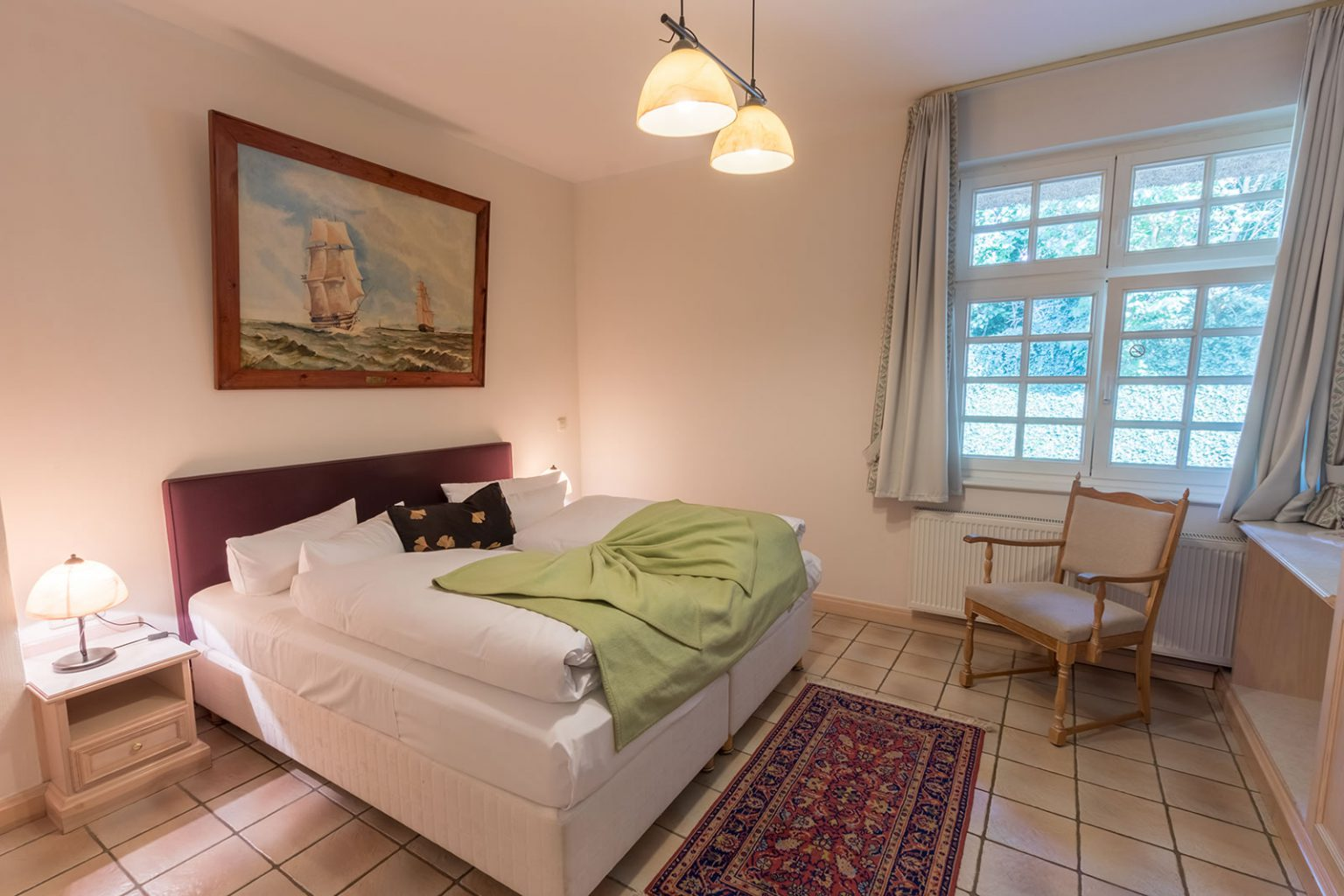 Schlafbereich, Appartement
