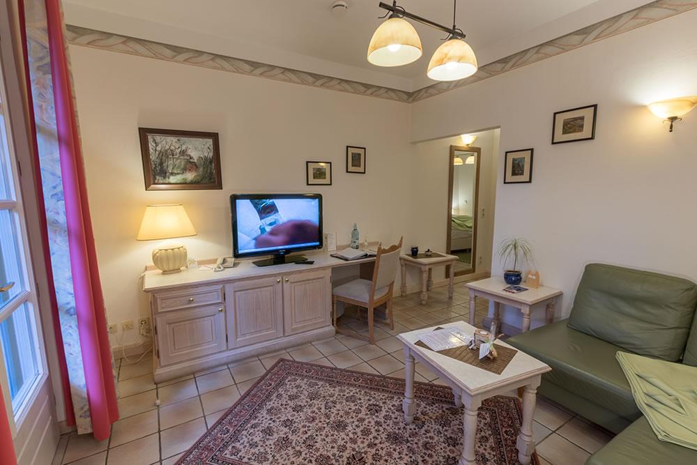 Wohnbereich im Appartement