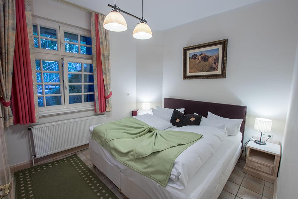 Schlafzimmer in Appartement