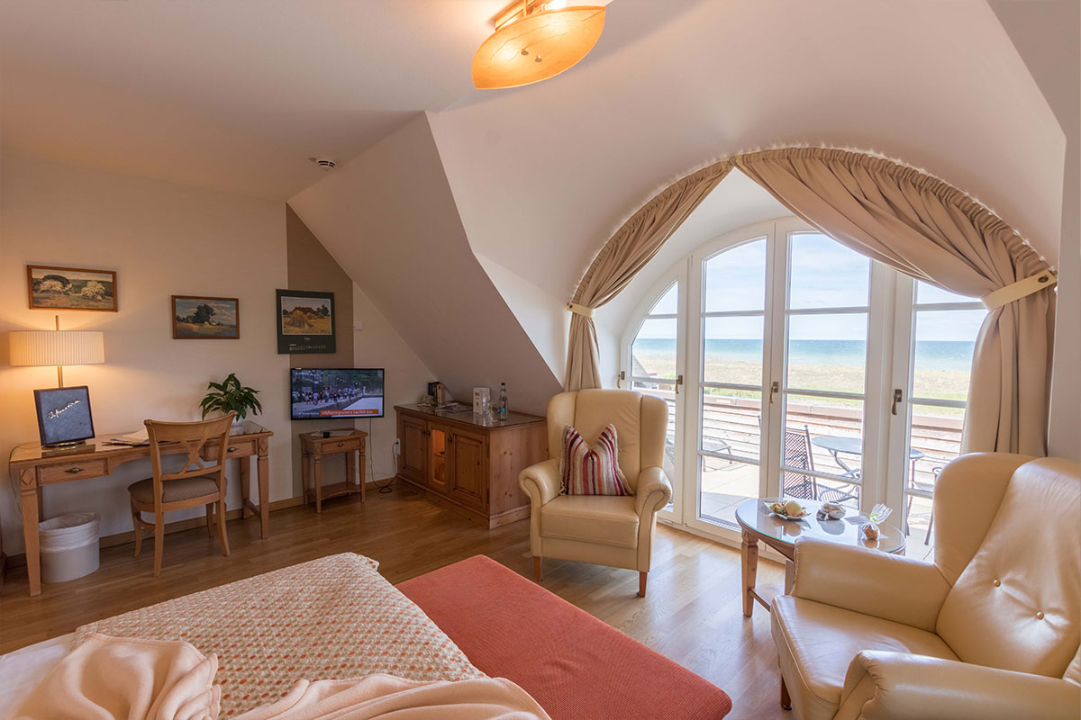 Doppelzimmer in Hotel Namenlos