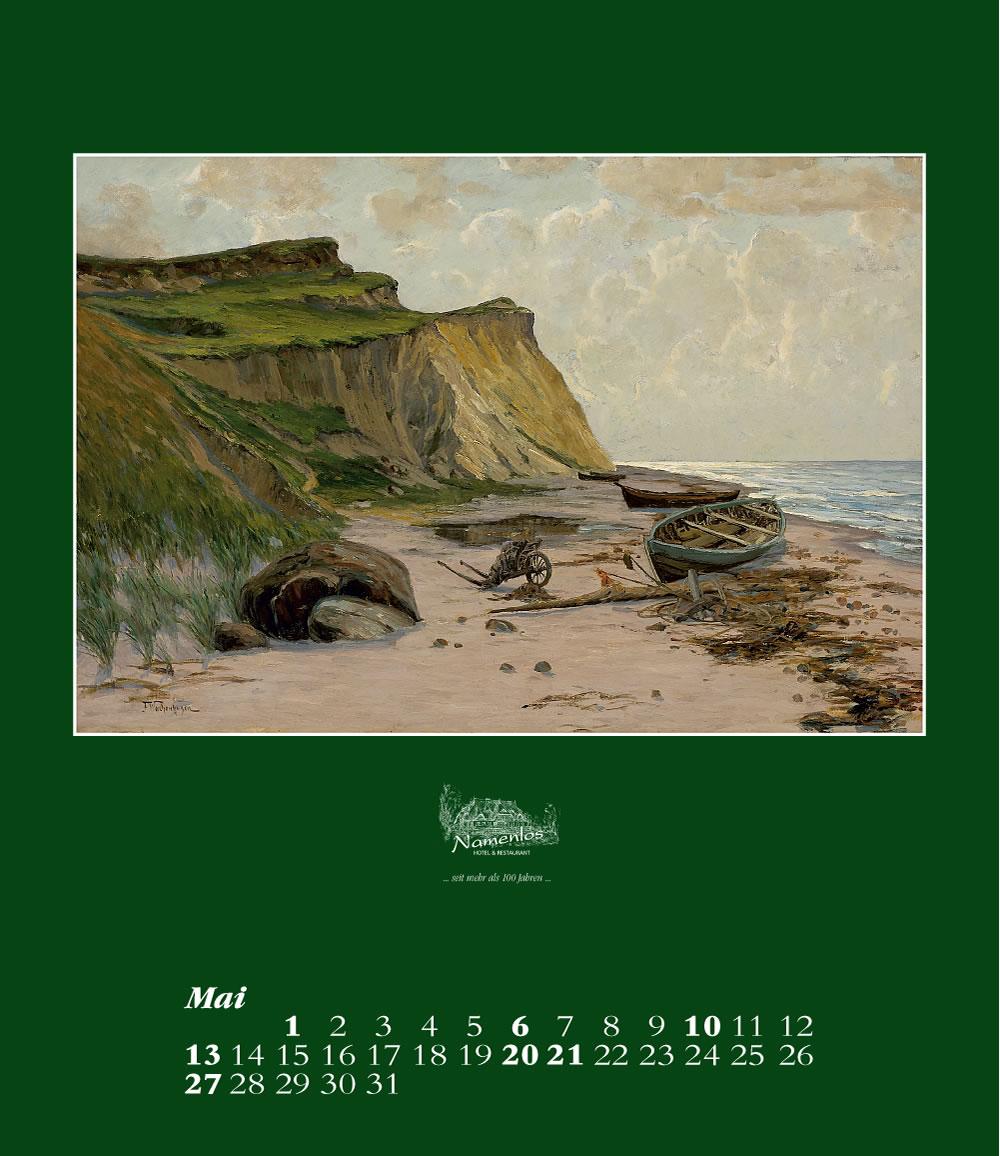 Kunstkalender 2018 Friedrich Wachenhusen, Mai