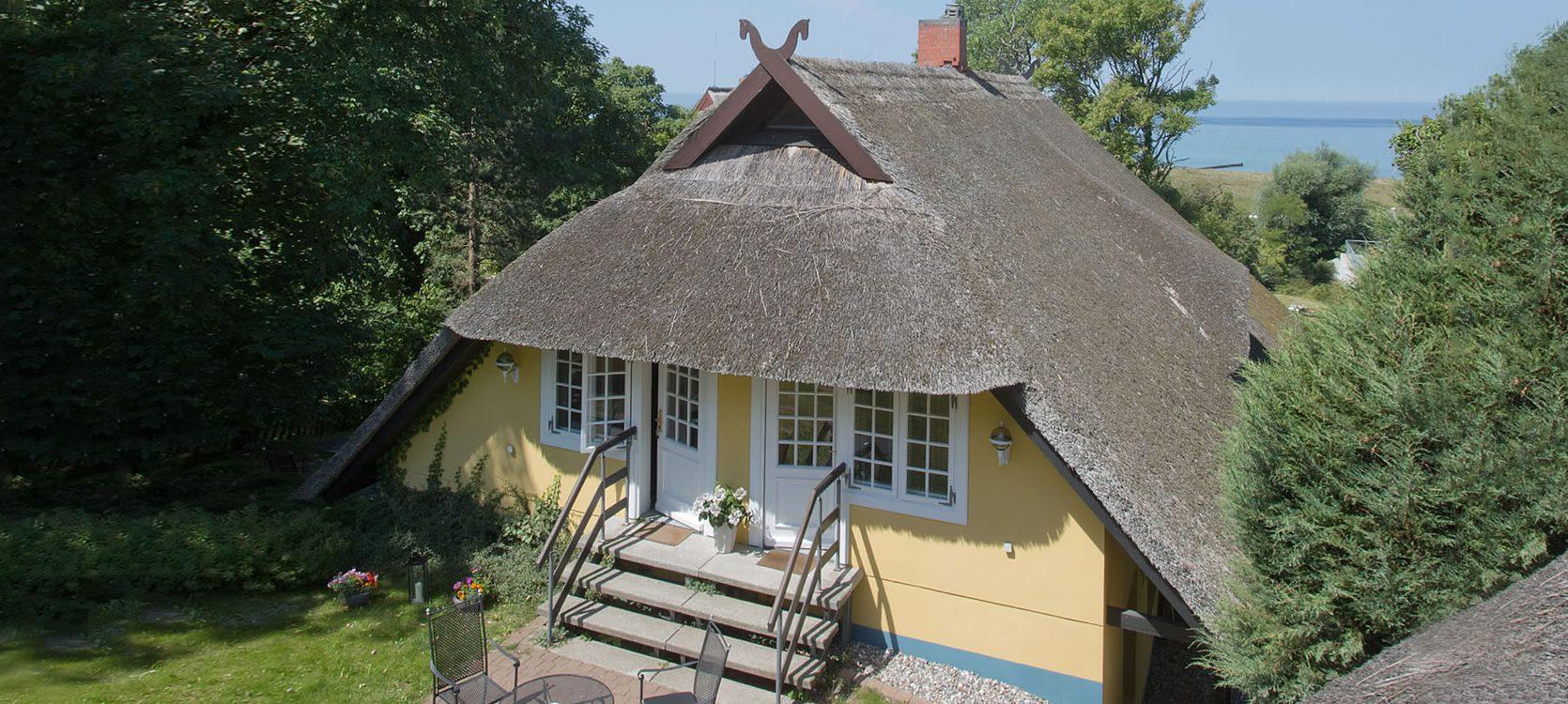 Gästehaus Bergfalke zur Boddenseite
