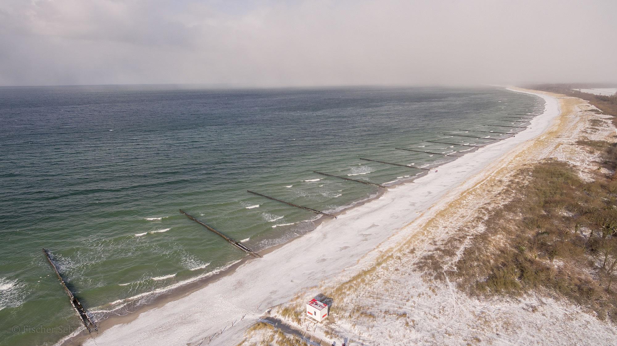 Strand, 2018, Blickrichtung Leuchturm
