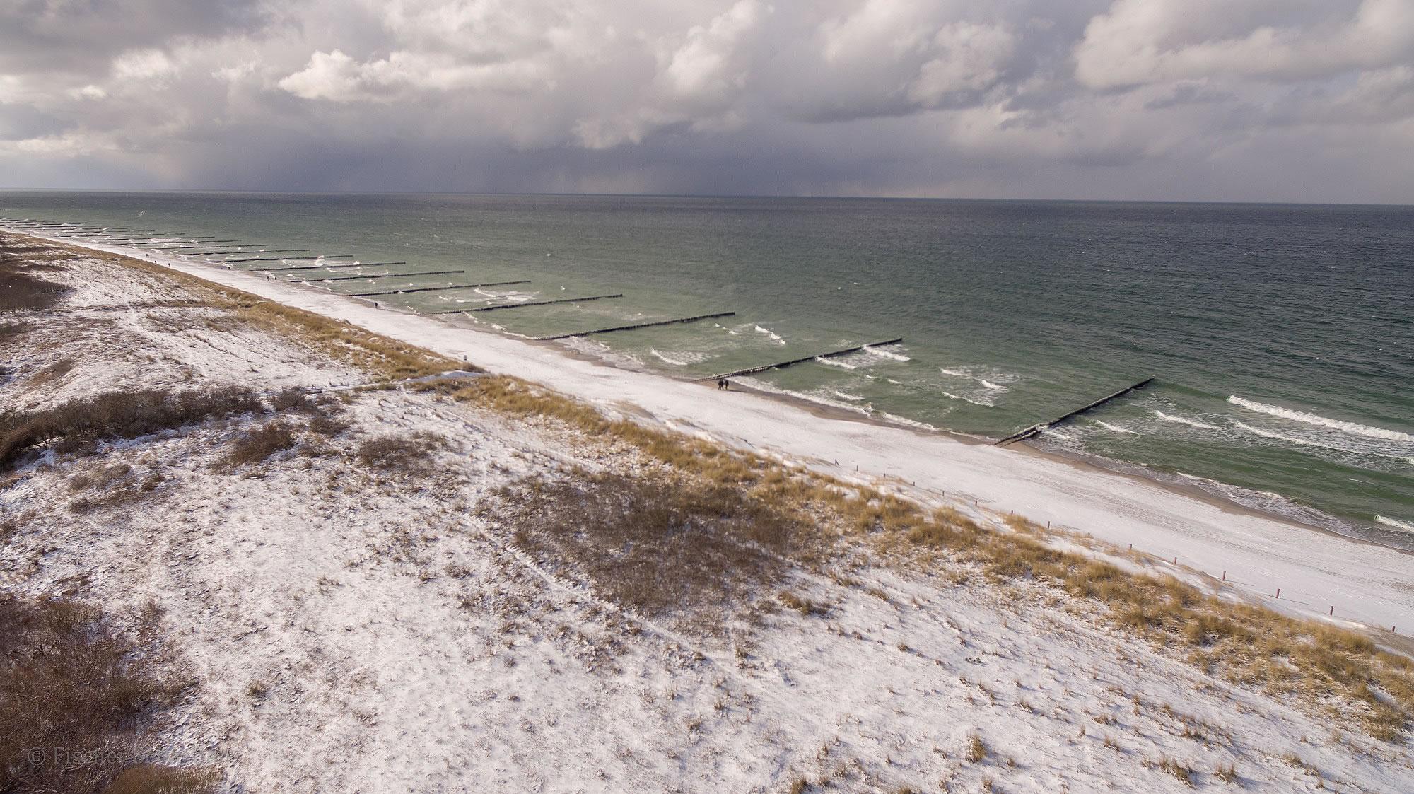 Strand 2018, Blickrichtung Hohes Ufer