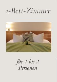 1-Bett-Zimmer, Hotel Fischerwiege