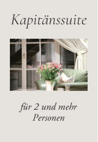 Kapitänssuiten, Hotel Fischerwiege