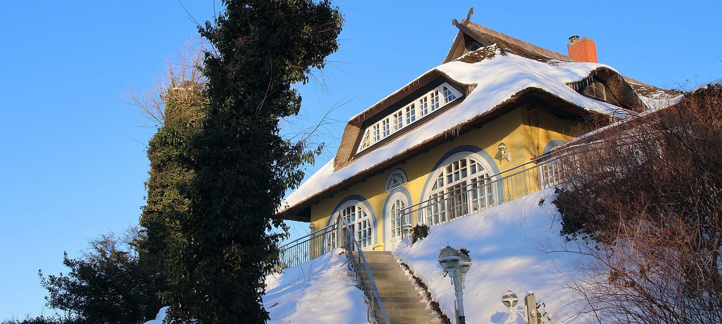 Gästehaus Bergfalke zur Ostsee-Seite