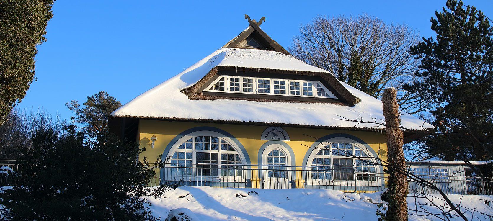 Gästehaus Bergfalke, Winter 2918