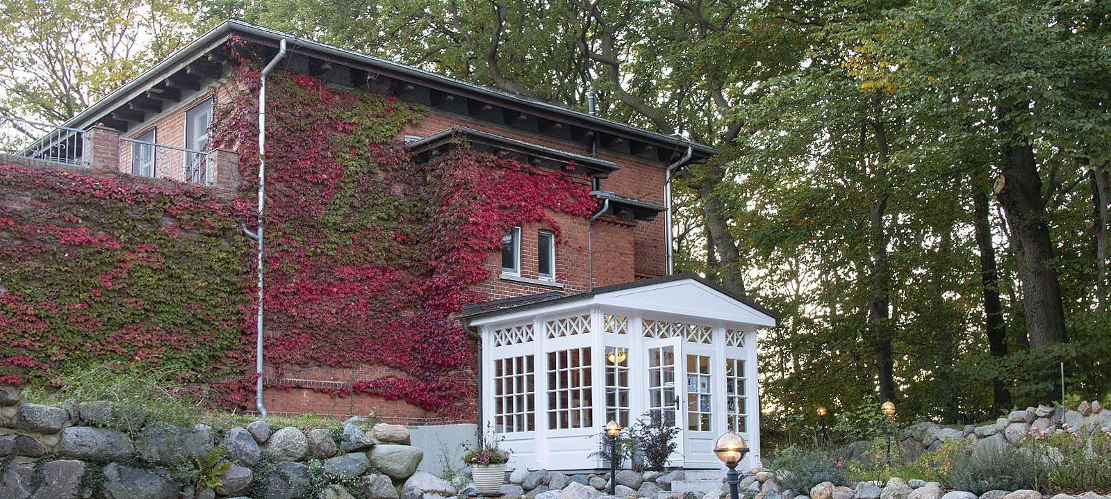 Alte Malschule Fünenhaus im Herbst