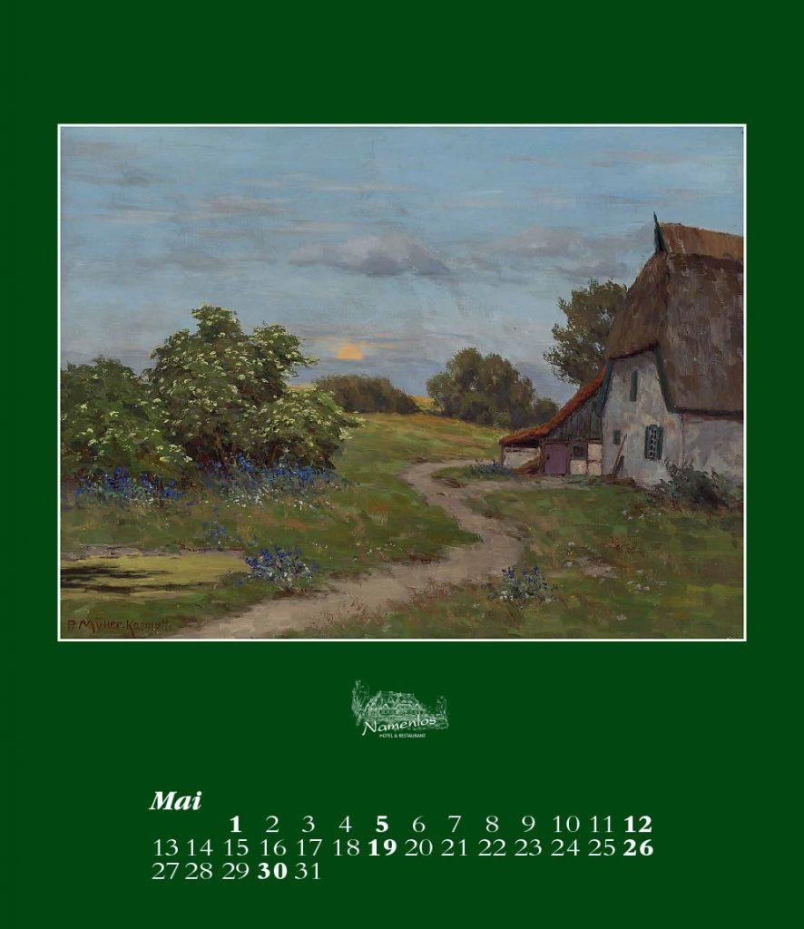 Kunstkalender 2019, Mai