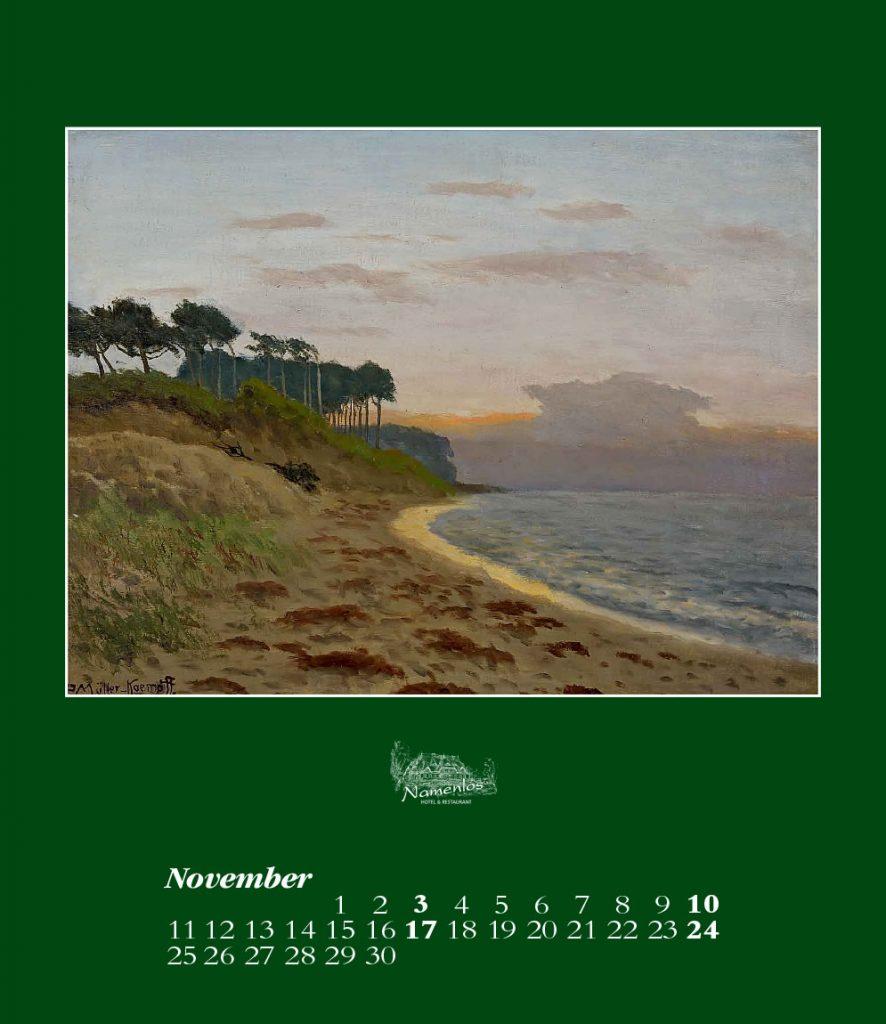 Kunstkalender 2019, November