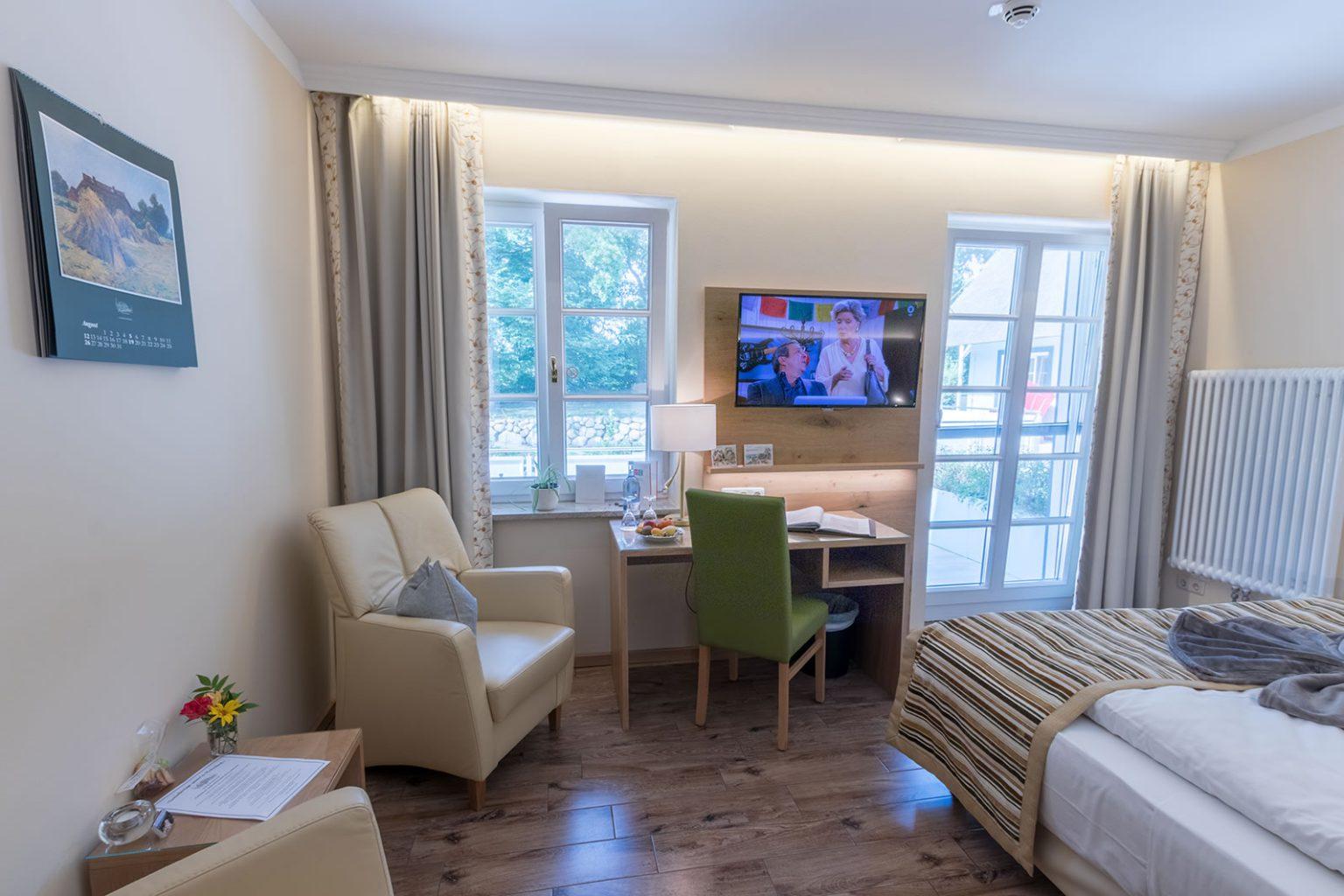 Doppelzimmer mit Terrasse, DZ